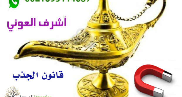 قانون الجذب  في أسطرlaw off attraction